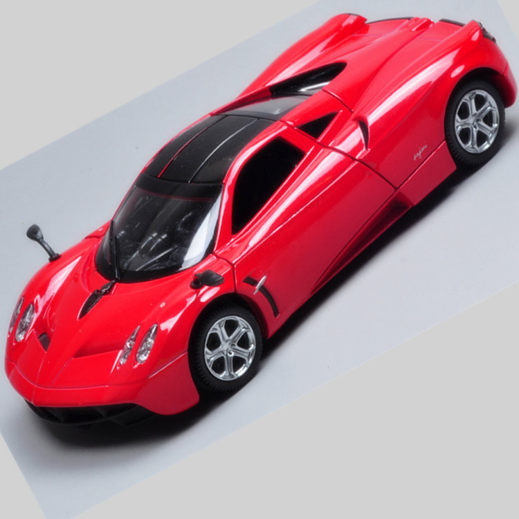 die cast model car 1 32 pagani pull back diecast metal car model new design Gull Wing doors pull back toys with sound & light(China (Mainland))