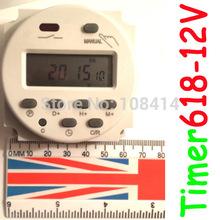 Таймер время 12Vdc переключатель 7 дней программируемый 24hr переключатель времени SINOTIMER марка