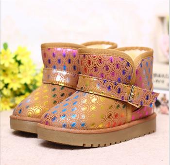 Бесплатная доставка 2015 зимняя обувь новые модели для мальчиков и девочек детские зимние ботинки T3047