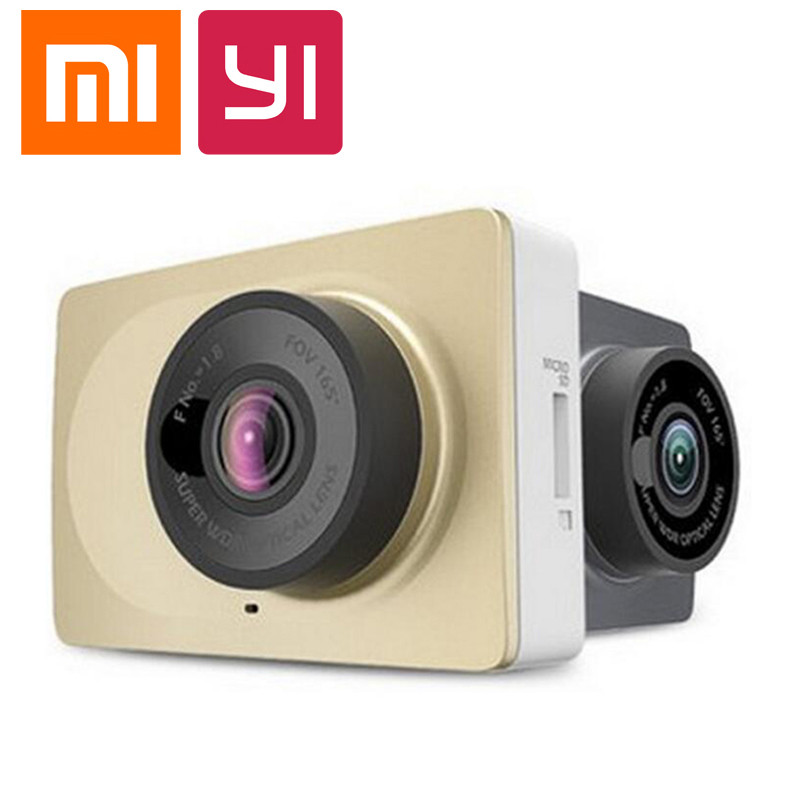 Фотография Originale Xiaomi Xiaoyi intelligente voiture DVR WiFi Xiaomi 165 grau Dash camera 1080 P 60fps 2.7 Xiaomi Dash Cam camescope