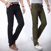 4 colors PLUS SIZE M-4XL 5XL 6XL 7XL Maximum Waist 46:117CM pants men casual brand male trousers straight Chinos new in 2016