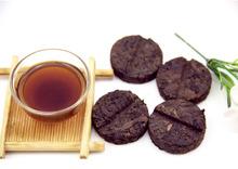 200g Chinese Yunnan Puer Tea Pretty Packing Ripe Pu erh Pu er Tea Slimming Black Tea