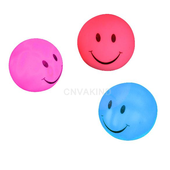 #C Novelty Lamp Changing Color LED Energy Night Light Magic Round Smile Colorful(China (Mainland))