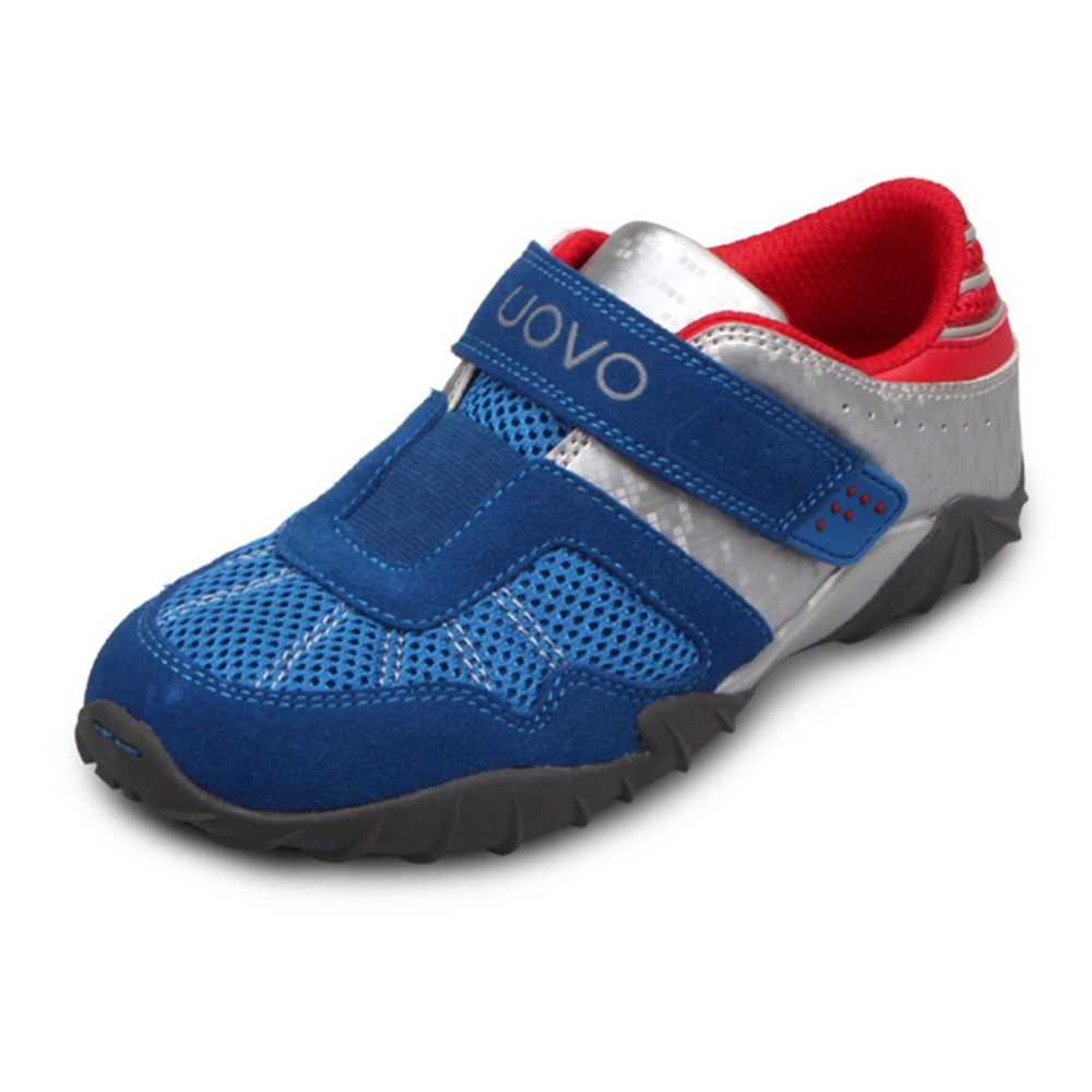 UOVO 2015 fashion racing drive children shoes sneakers wear resistant kids sport shoes leather boys shoes 2 clors