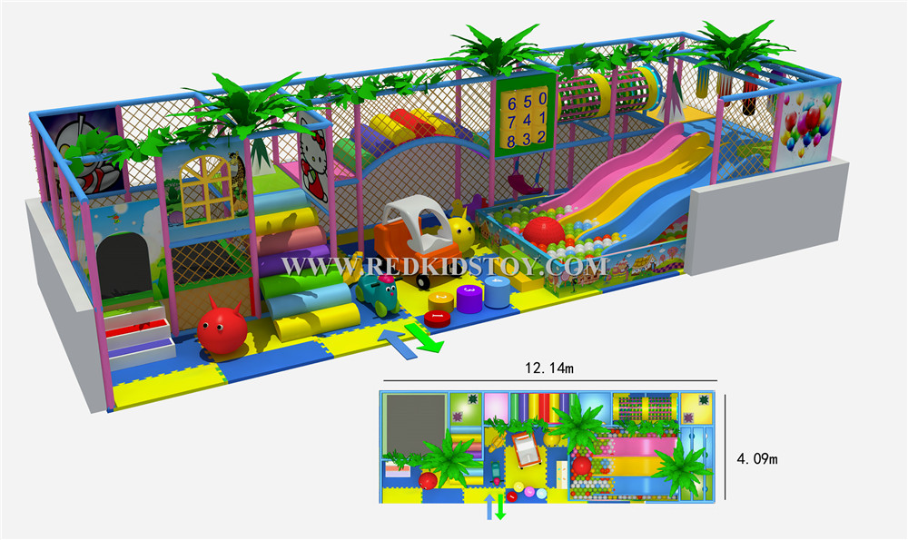 2015 CE Approved Supermarket Kids Indoor Playground Equipment Golden Factory Indoor Soft Play System HZ-50207(China (Mainland))