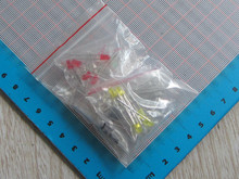 Free Ship 40pc/lot High quality 3MM led diode kit 8color*5pc DIP light Led Diode led diode 3mm pack(China (Mainland))