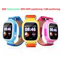 Colorful touch screen Q90 WIFI Smart Watch SOS Call Location Finder Locator Device Tracker GPS Kid
