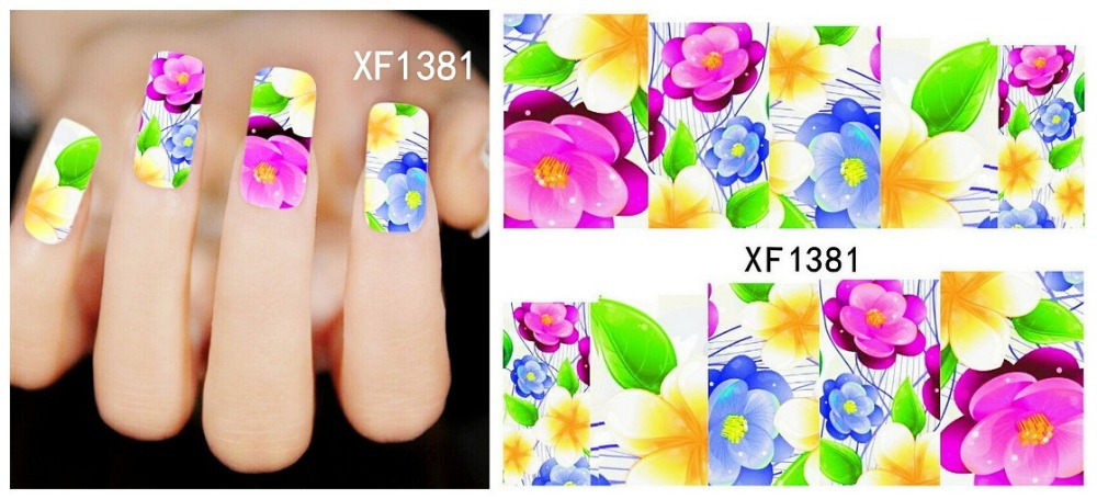 Fashion beautiful DIY Japanese watermark cute pink butterfly Design Tip Nail Art Nail Sticker Nail Decal Manicure nail tools1381(China (Mainland))
