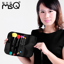 MSQ Brand 6pcs Professional Makeup Brush Set Top Quality Soft Synthetic Hair Make Up Brushes With