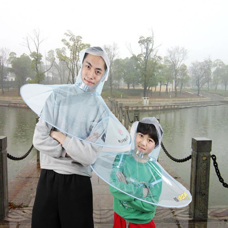 Творческий нло зонтик дождь hat сидячие cap рыбалка Paraguas личности guarda - chuva марсианский артефакт зонт totrust 2015 chuva paraguas tp 016