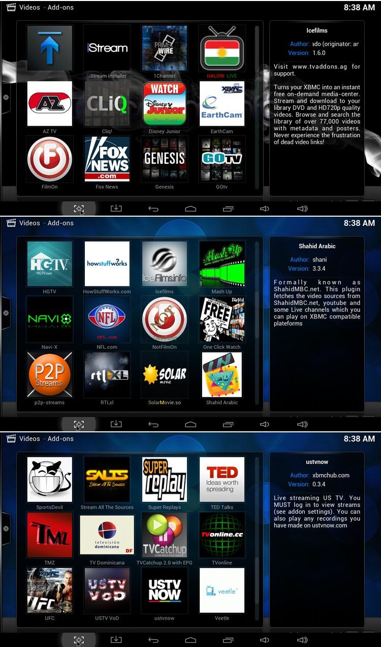 image for MXQ Smart TV Box Amlogic S805 Quad-Core 1GB/8GB XBMC Fully Loaded WiFi