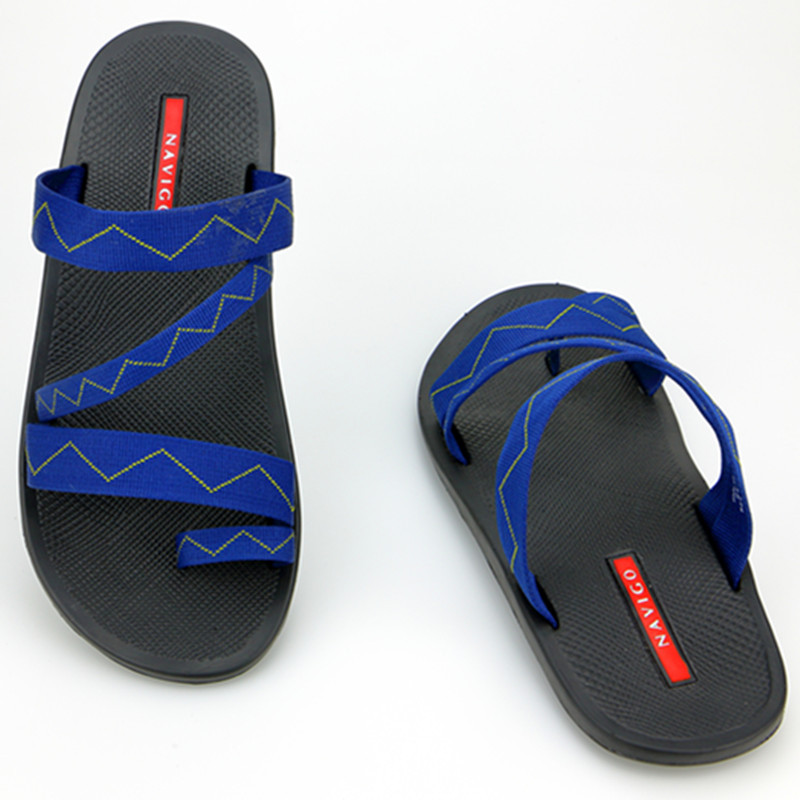 Outdoor Beach Man Casual Slippers 2016 New Summer Rubber Sole Slip-on Flip Flops Vietnam Sandals Men Leisure Shoes