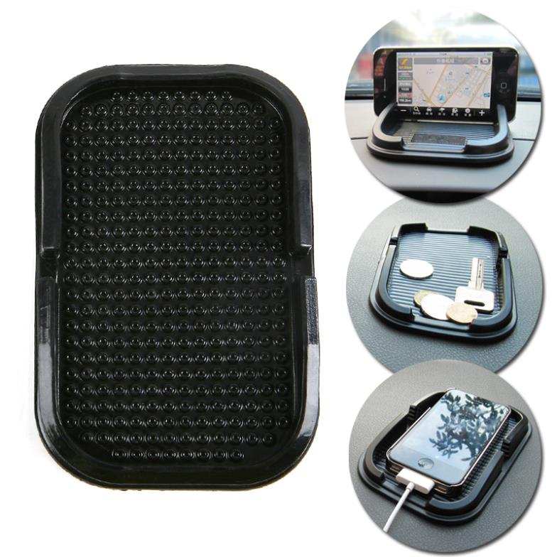 Multi-functional car Anti Slip pad Rubber Mobile Sticky Dashboard Phone Shelf Antislip Mat For GPS MP3 Cell Holder#A3009006(China (Mainland))