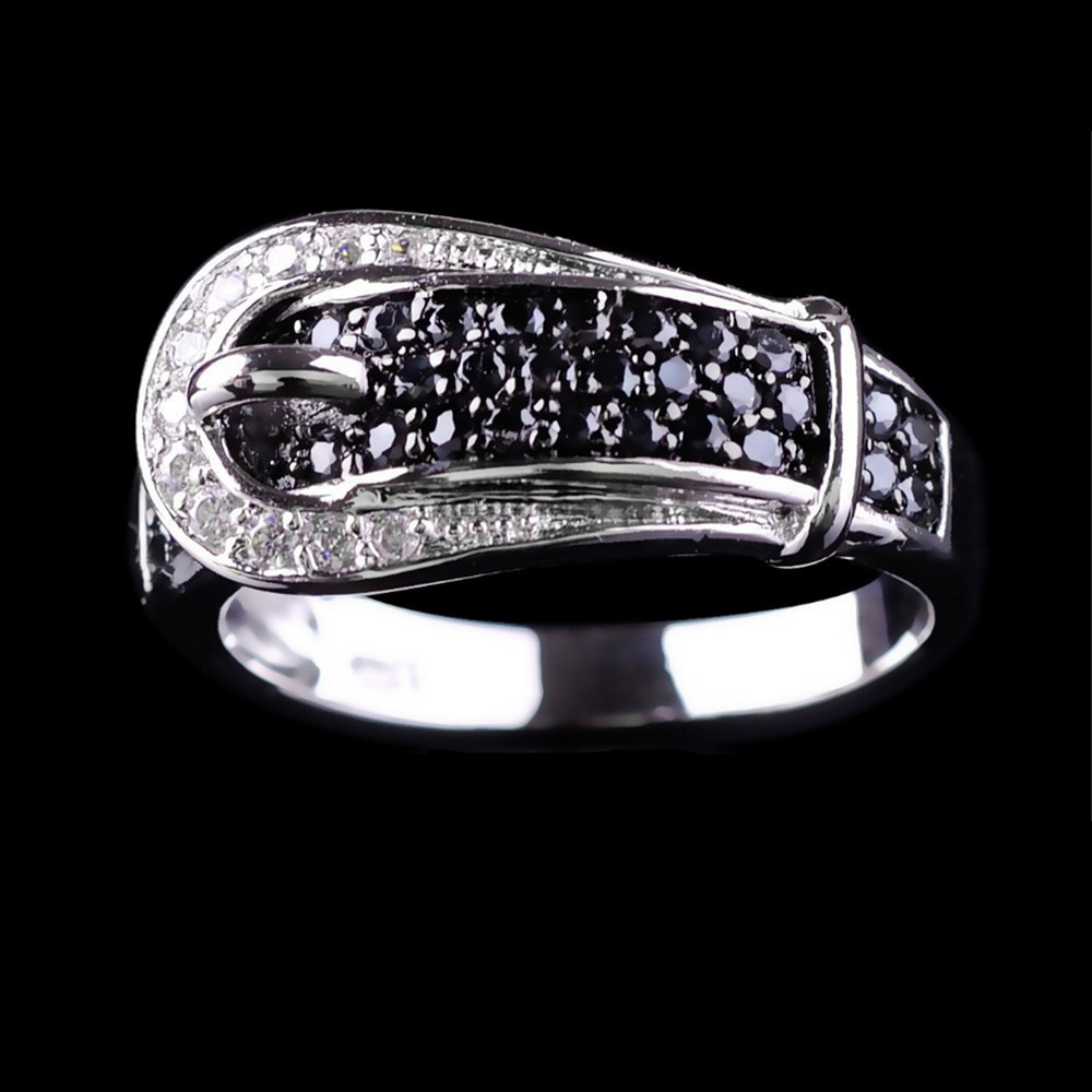 jewellery micro cubic zircon 10kt white gold filled
