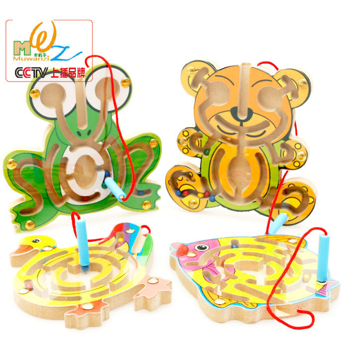 Free shipping magnetic maze series, Early childhood educational maze toys, Intellectual games small pen labyrinth(China (Mainland))