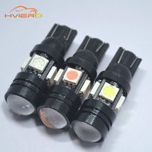 Buy 10pcs 168 192 T10 W5W LED 4SMD 5050 1.5W High power Super Bright Car Bulbs Auto Lamp width lamp license plate Lens Light scatter for $7.21 in AliExpress store