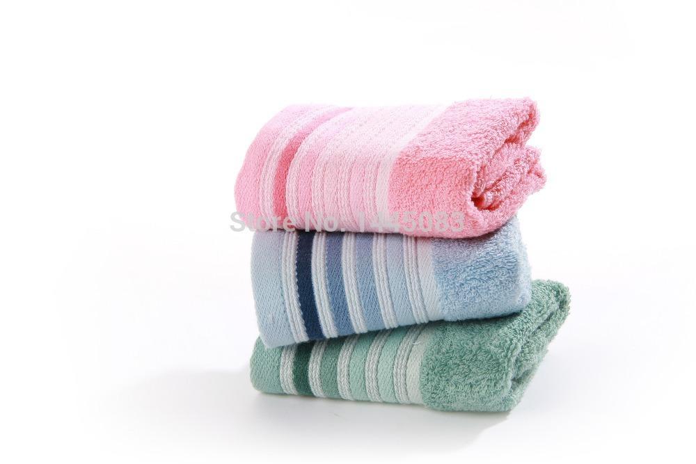10pcs/lot High quality 100% cotton towel quick dry face hand towels magic small kerchief dishtowel christmas gift 37*34cm set(China (Mainland))