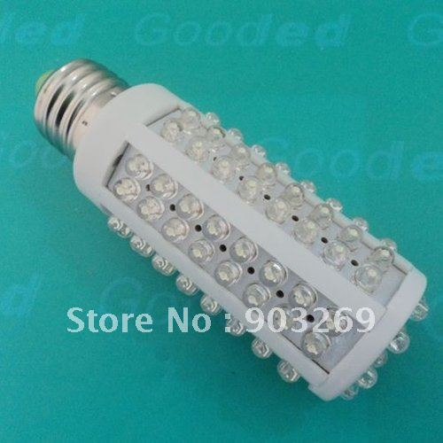 1PC E27 LED Bulb 7W 108 LED 520 Lumens 360 Degree 220V Warm White / White Cold White Ultra Bright Corn Bulb Free Shipping