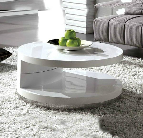 Petit appartement moderne minimaliste blanc table basse for Table basse blanc ikea