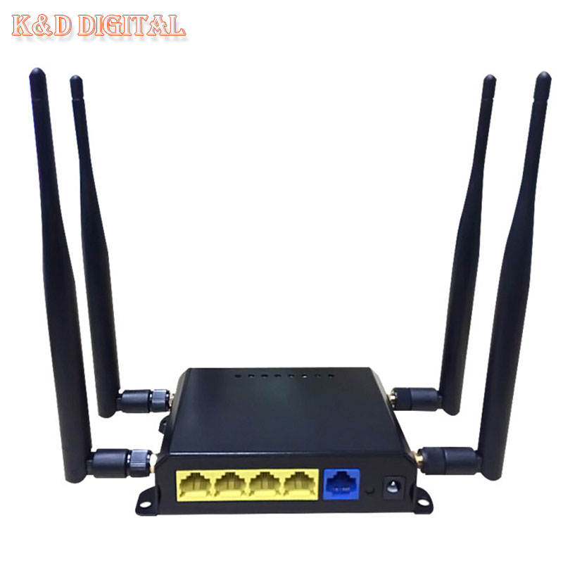 300Mbps OpenWRT 4G Wireless WiFi Router With SIM Slot Support HSPA UMTS TD-LTE FDD-LTE WCDMA GSM GPRS(China (Mainland))