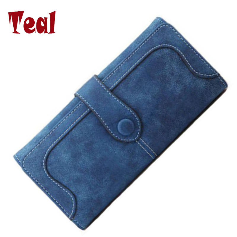women's purse for coins cartera leather clutch wallet women luxury brand dollar price money clip wallet women's purse for coins(China (Mainland))