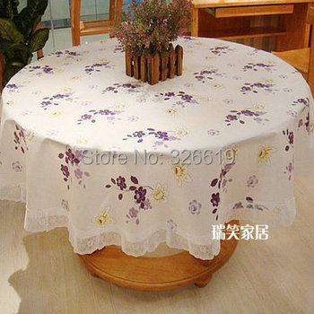 Free shipping Wave PVC table cloth high temperature resistant waterproof oilproof tablecloth square round table cloth