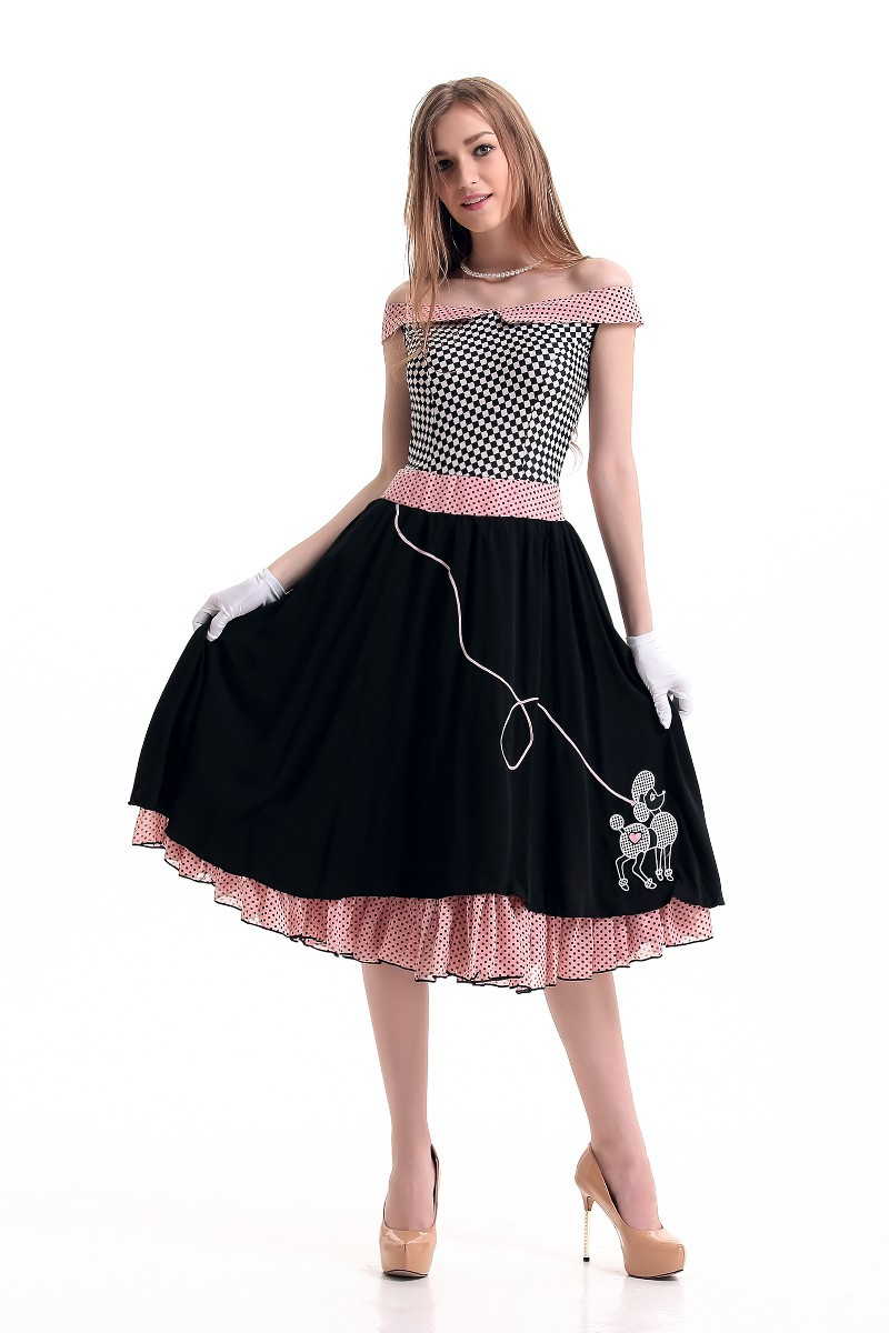 Free Shipping Pin Up Costume PP1583 Sexy halloween party costumes for women(China (Mainland))