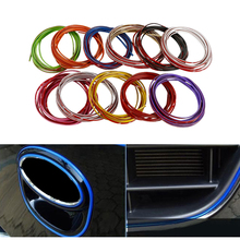 Buy 5M Car Styling Brand Stickers Decals Interior Decorative 3D Thread Stickers Decoration Strip Car-Styling Auto Accessories for $2.66 in AliExpress store