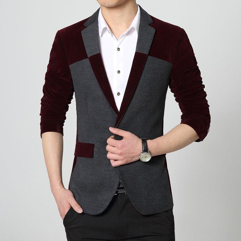 2016 New Hot Sale Menu0026#39;s Blazer Fashion Jacket Men Blazers ...