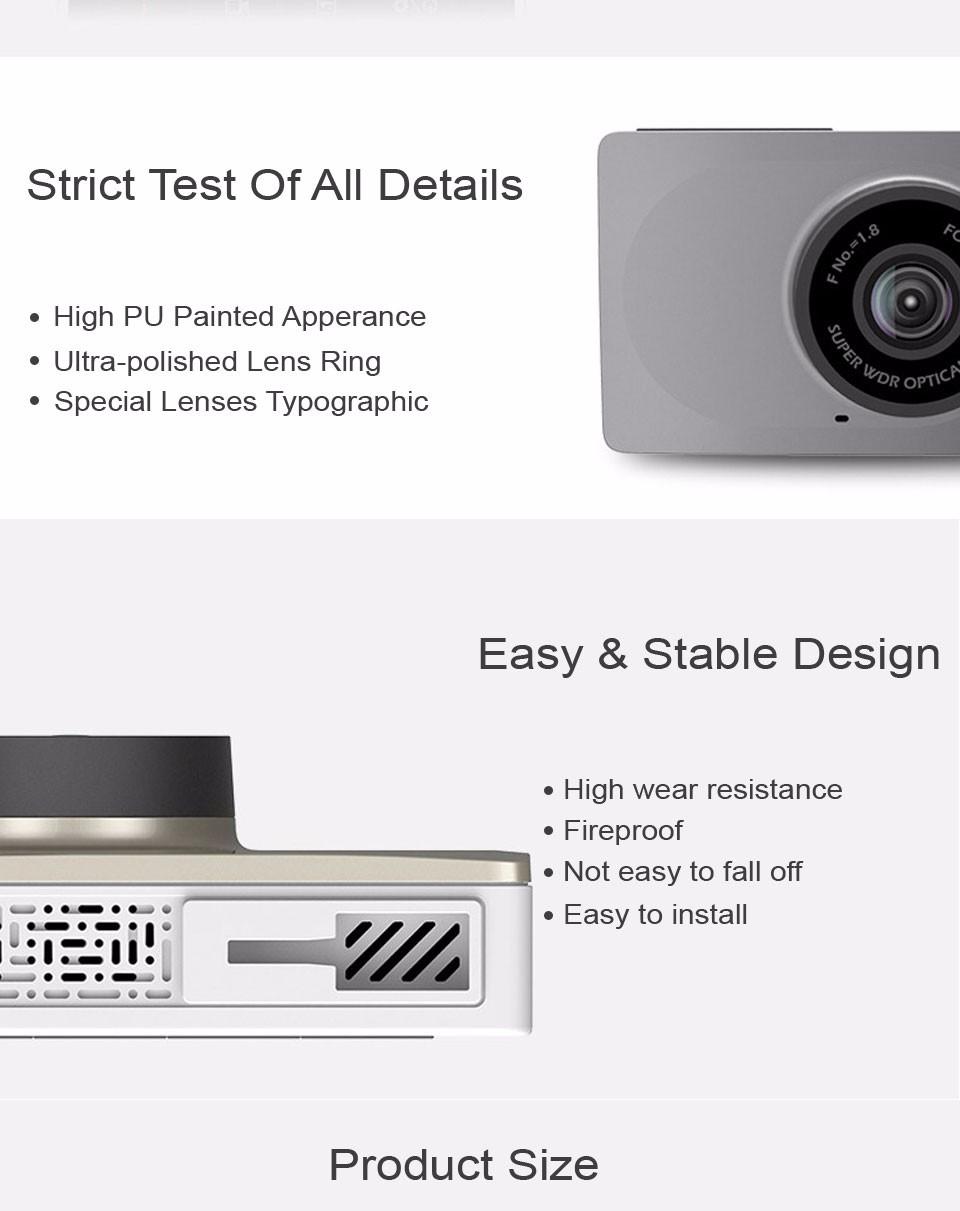 Xiaomi YI Smart Dashcam Car DVR (9)