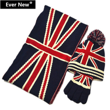 Scarf Hat Gloves Set Triad 2015 Fashion Winter Hat And Scarf For Women Hat Scarf Set Winter Gloves Hot Sales 3 Color(China (Mainland))