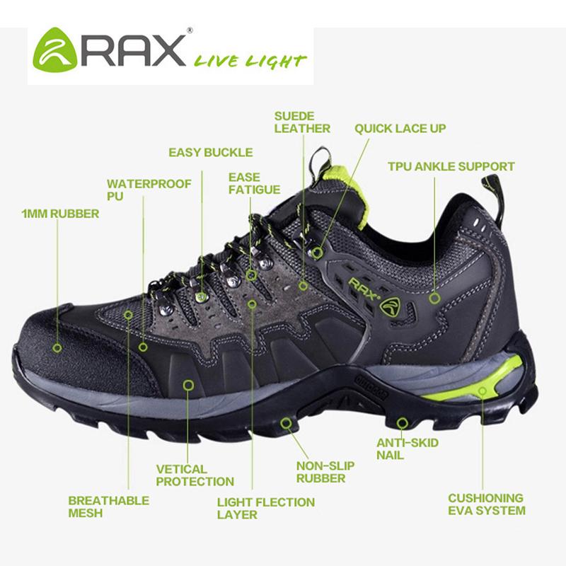 Aliexpress.com  Buy Rax Outdoor Waterproof Hiking Shoes Men Women Breathable Climbing Shoes Men ...