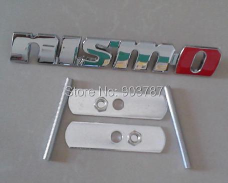 20pcs Good Quality metal nismo grill emblem badge chrome wholesale<br><br>Aliexpress