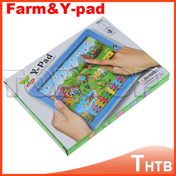New Arrival!! Ypad Tablet Farm Learning machine English Computer for Children child learning & education russia(China (Mainland))