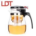 LDT 600ml Kung Fu Glass Tea Pot Handmade Tea Strainer Teapot Chinese With Infuser Tea Kettle