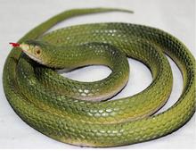 Halloween Trick Simulation Faux Snake 125cm Lifelike Silicone Realistic Fake Snake Scary Toy Snakes Model(China (Mainland))
