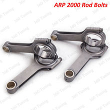 Conrod Connecting Rod for Peugeot 106 Kit Car TU5J4 137 75mm Forged H Beam Piston Rods