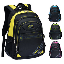 Fashion brand students children school bags men's leisure travel backpack laptop bags (5 colors)(China (Mainland))