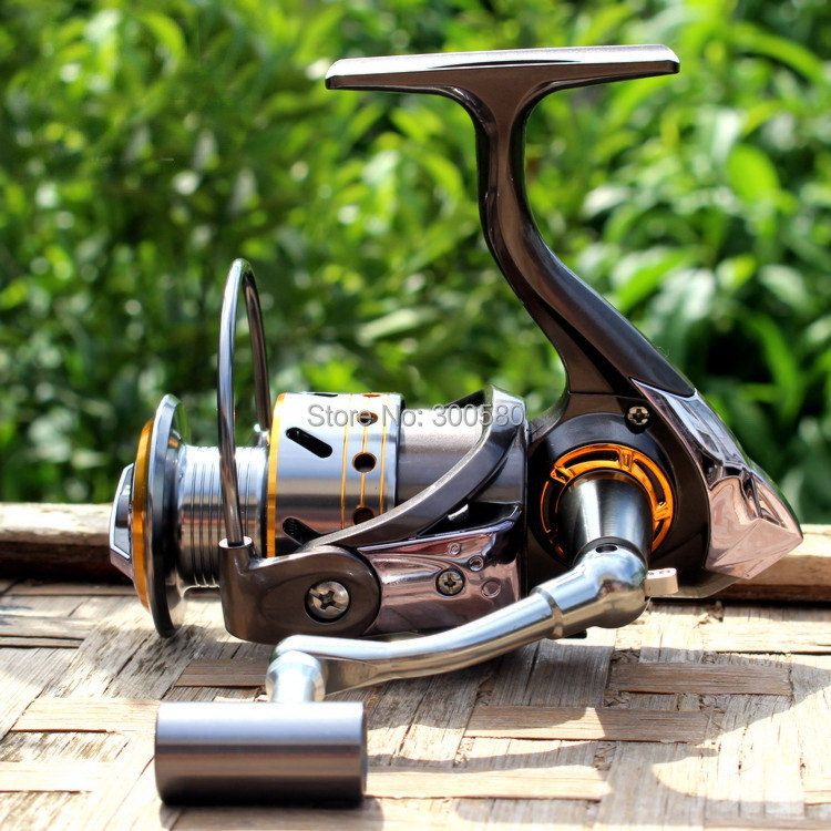 Gapless Fishing Reel DK6000 Spinning 13BB CNC Full Metal Handle Ratio 5.1:1 Carretilha Pesca Hot - Yewo Tackle.,Ltd store