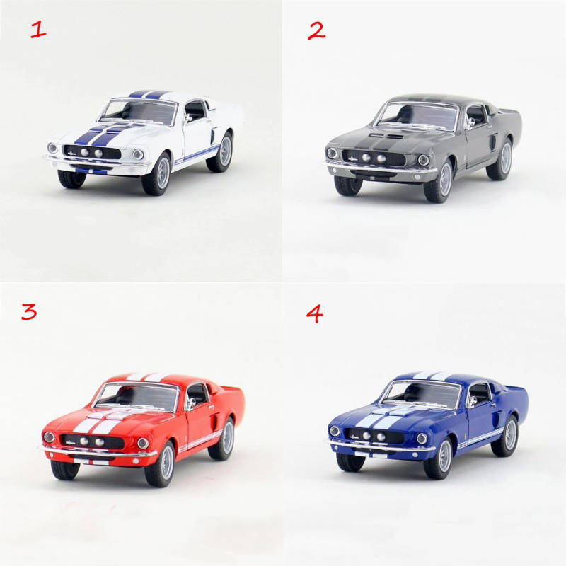 Kinsmart Mustang Shelby GT500/1967 Mustang GT500 1/38 alloy models model car Shelby pull back car children's toys car Kids toy(China (Mainland))
