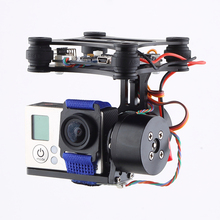 FPV Quadcopter Gimbal CNC Brushless Motor PTZ 2 Axis With BGC Controller For DJI Phantom Quadcopter Drone Camera Toy Part