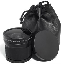Buy 58mm 0.21x Wide Angle fisheye LENS 58 mm 0.21 canon 600d 60d nikon d90 d300 pentax sony DSLR/SLR Digital Camera for $30.50 in AliExpress store