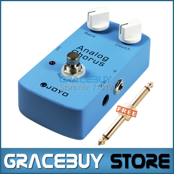 FREE SHIPPING JOYO JF-37 Analog Chorus Classic BBD Chip Guitar Effect Pedal Audio True Bypass 1PCS