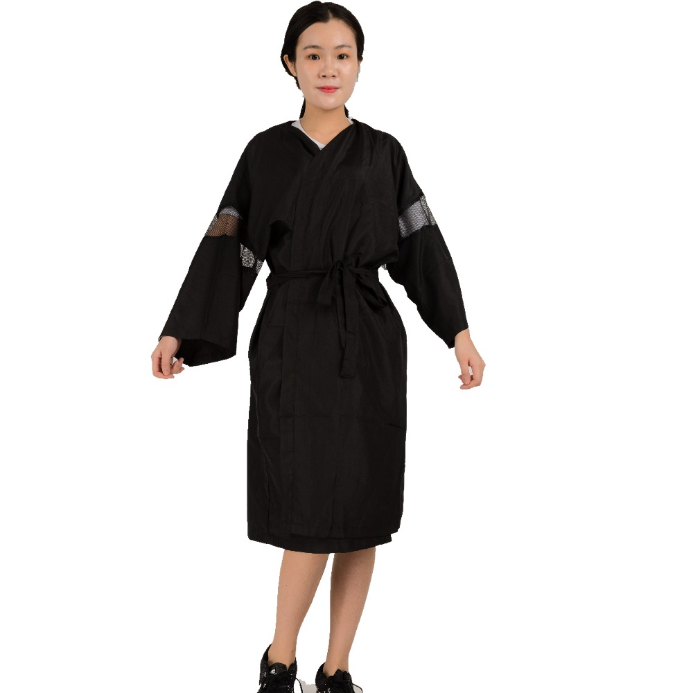 Online kopen wholesale schort schoonheidssalon uit china for Spa uniform indonesia