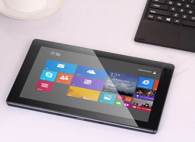 S01161 VOYO A1 Z3735D Quad Core Tablet PC Windows 8 10 1 IPS Screen Tablets 2G