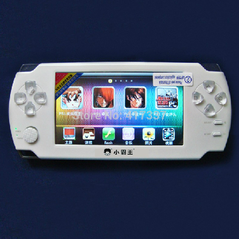 """4.3"""" 4GB HD 720P TV Out Players Touch Screen Handheld Game Console Support 32/64 bit/Arcade/PS1/Flash Games(China (Mainland))"""