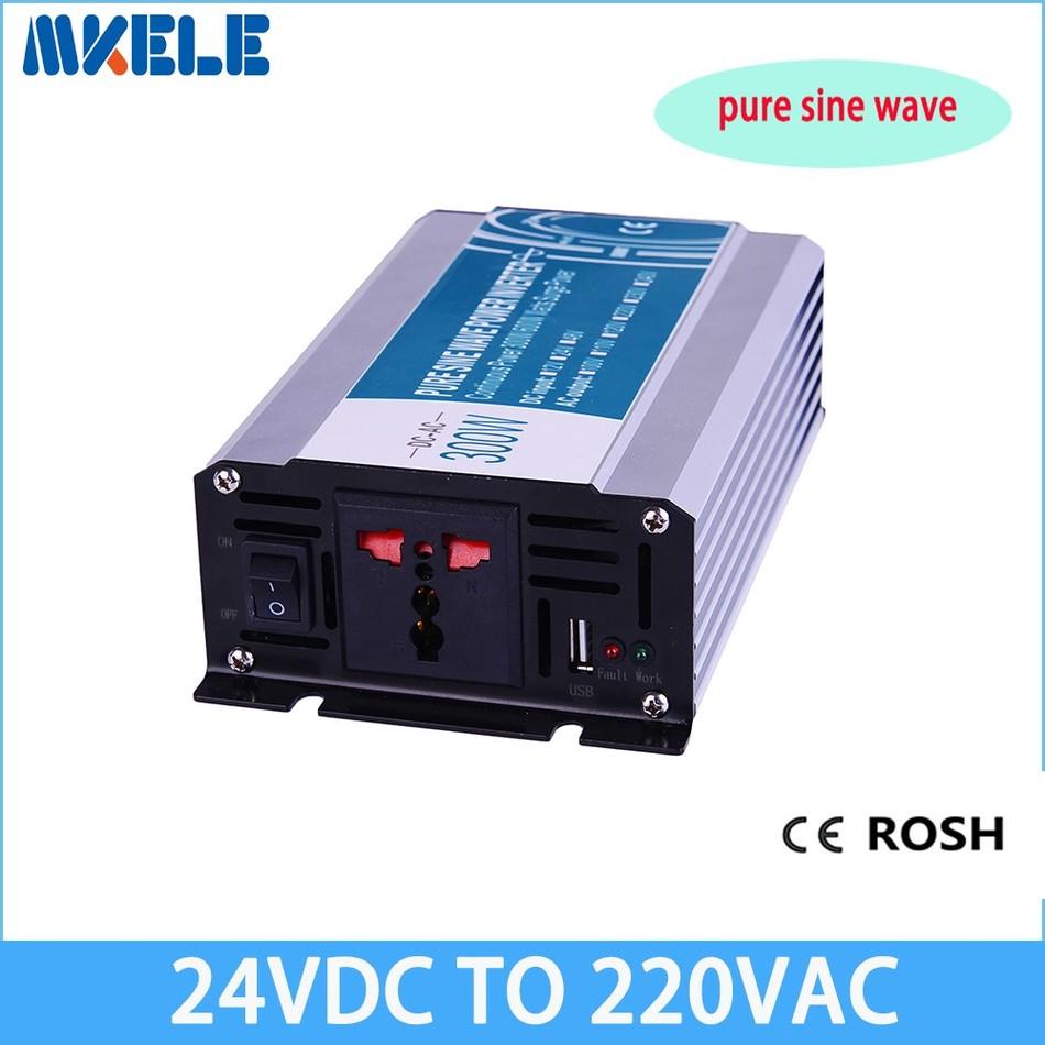 MKP300-242R general purpose pure sine wave inverter 24vdc to 220vac inverter 300w power inverter grid tie inverter(China (Mainland))