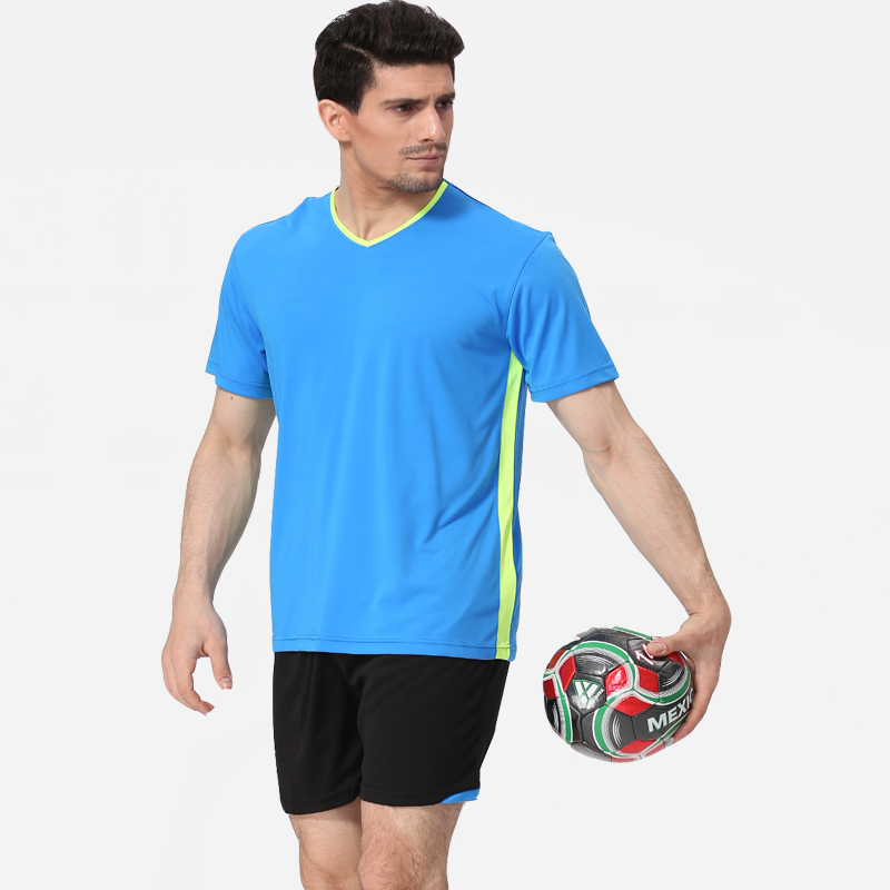 Brand New Soccer Jersey Custom Simple Leisure Breathable Adult Mens Football Soccer Training Jersey Shirt and Short Uniform 2017(China (Mainland))