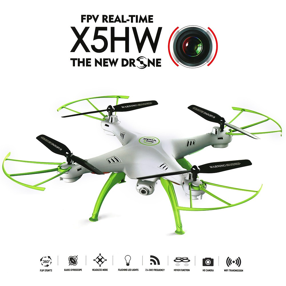 2016 NEW SYMA X5HW WIFI FPV Quadcopter Drone with Camera 2.4G 6-Axis FPV Drone Syma X5SW SYMA X5C Upgrade RC Helicopter Dron<br><br>Aliexpress