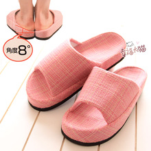 Japan's Legs revolutionary decompression feature slippers correct O-leg at home slipper shoes woman 2013 free shipping(China (Mainland))